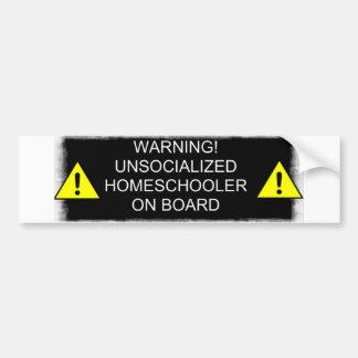 Varning! Bildekal