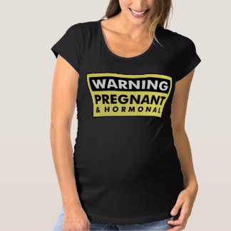 Varning: Gravid & Hormonal T Shirts