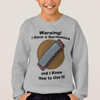 Varning! Jag har en Harmonica… T-shirts