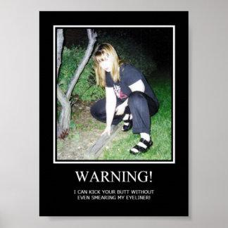Varning Poster