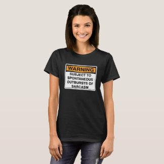 Varning - Sarcasm T-shirts
