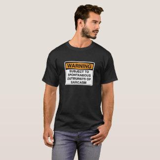 Varning - Sarcasm Tee Shirts