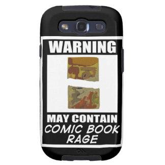 Varningsmaj innehåller humorbokursinne galaxy SIII fodraler