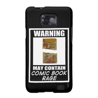 Varningsmaj innehåller humorbokursinne galaxy SII skydd