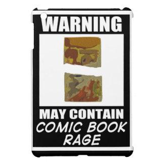 Varningsmaj innehåller humorbokursinne iPad mini skydd