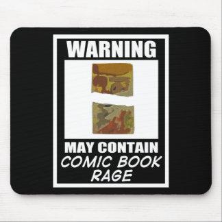 Varningsmaj innehåller humorbokursinne mus matta