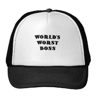 Värst chef för världar keps