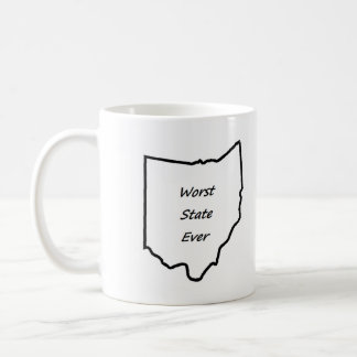 Värst Ohio påstår någonsin Kaffemugg