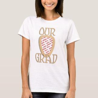 VÅRT AKADEMIKERT - guld- studentenfotoram Tee Shirts