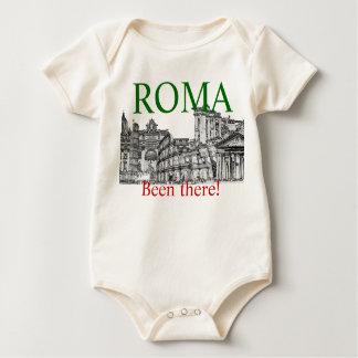 Vart där, gjort det därefter!  Rome t-skjorta Krypdräkt