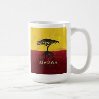 Vårt rotar den djupa Kwanzaa för springan muggen Kaffemugg