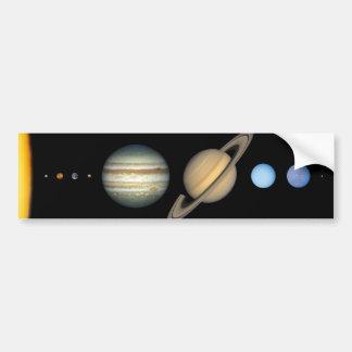 Vårt sol- system bildekal