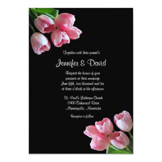 Vårtulpan som gifta sig inbjudan