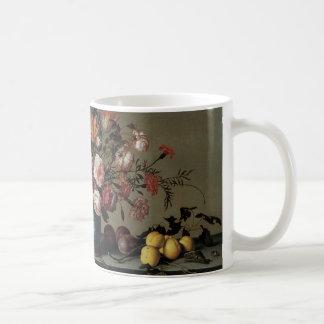 Vas av blommor vid ett fönster, Balthasar skåpbil Kaffemugg