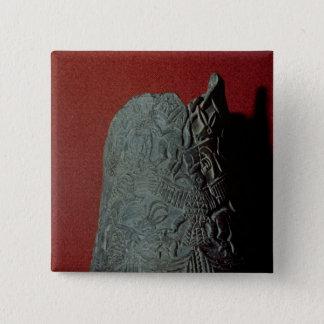 Vas från Uruk den 3rd milleniummen BC Standard Kanpp Fyrkantig 5.1 Cm