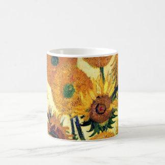 Vas med femton solrosor av Vincent Van Gogh 1 Kaffemugg