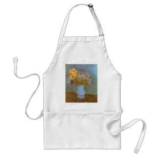 Vas med lilor och daisy av Vincent Van Gogh Förkläde