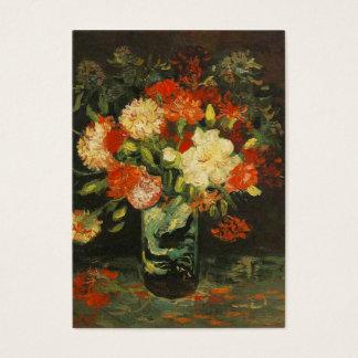 Vas med nejlikor, Van Gogh Visitkort