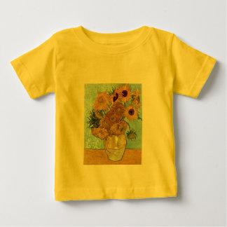 Vas med tolv solrosor av Van Gogh T Shirt