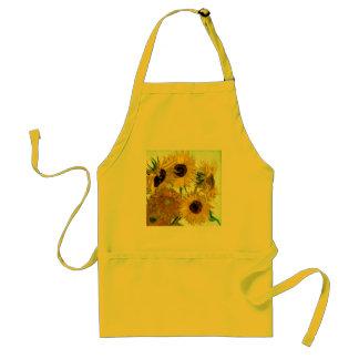 Vas med tolv solrosor, Van Gogh konst Förkläde