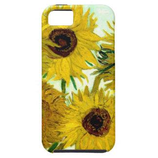 Vas med tolv solrosor, Van Gogh konst iPhone 5 Skal