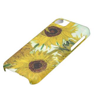 Vas med tolv solrosor, Van Gogh konst iPhone 5C Fodral