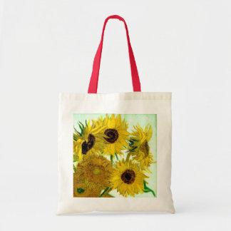 Vas med tolv solrosor, Van Gogh konst Tygkasse
