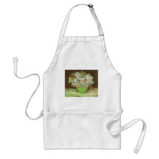 Vas med Zinnias och blommor av Vincent Van Gogh Förkläde
