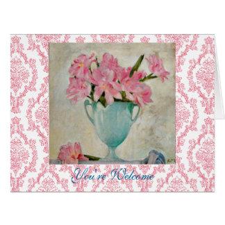 Vasen för blommor för den Moser art nouveau den