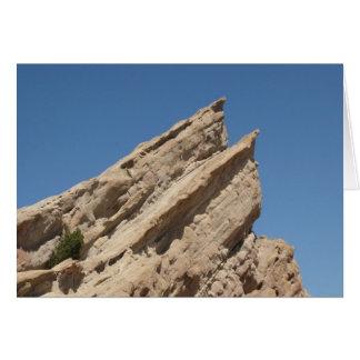 Vasquez stenar, Aqua Dulce, Kalifornien Hälsningskort