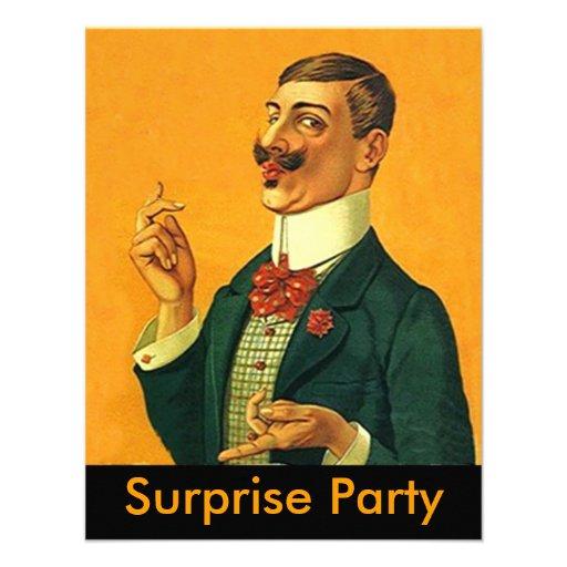 Vass Dapper inbjudan för party för Snapper~-överrr