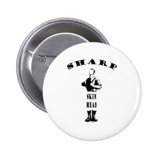 vass skinhead standard knapp rund 5.7 cm