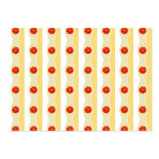 Vassblommadesign Decorativ mönster Visitkort