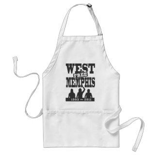 Västra Memphis tre Förkläde