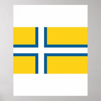 Västra sverige sverige affisch