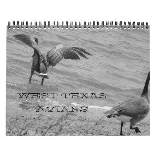 Västra Texas Avians Kalender