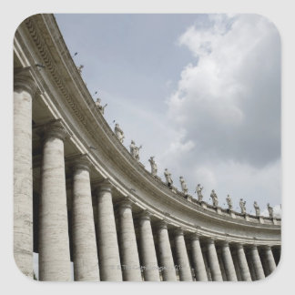 Vatican City är ettstatligt som kom in i Fyrkantigt Klistermärke