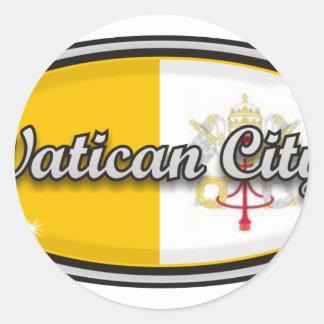 Vatican City Runt Klistermärke