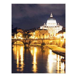 Vatican överbryggar av änglar brevhuvud