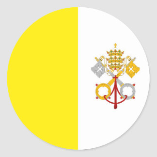 Vatican Runt Klistermärke