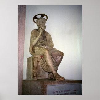 Vatican staty av St Peter Poster