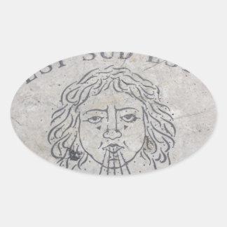 Vatican undertecknar ovalt klistermärke