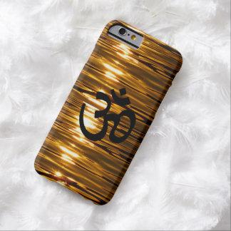 Vätskeguld med fodral för Om-symboliPhone 6 Barely There iPhone 6 Skal