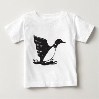 Vatten- fågel för Loon/för dykare T-shirts