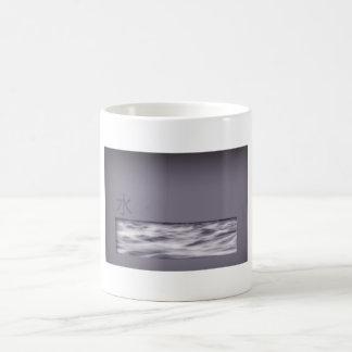 Vatten (kinesiskt tecken) kaffemugg