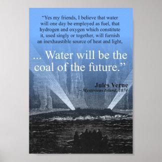 Vatten… kol av framtiden - affisch