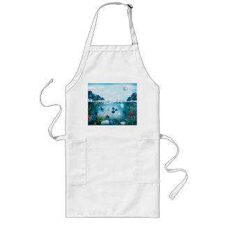 Vatten- landskap långt förkläde