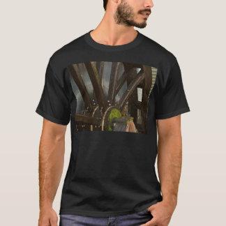 Vatten rullar t-shirts