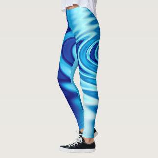 Vatten skvalpar abstrakt leggings
