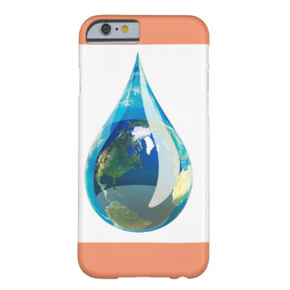 vatten tappar designad iphone 6 barely there iPhone 6 fodral